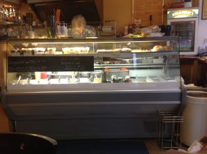 Theke im Fresh Bagels & Muffins (© szenemuc)