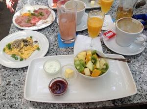 Fitnessfrühstück im Ysenegger (©  SzeneMuc)