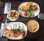 Italienisches Frühstück und Baskisches Frühstück à la Cotidiano
